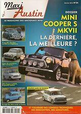 MAXI AUSTIN 24 2013 MINI COOPER S MK1 MK3 MK7 COOPER S KNIGHTSBRIDGE COOPER 500
