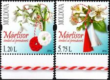 MOLDOVA 2016-03 Martisor, Holiday of Spring. Folklore. Flowers, MNH