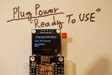 A+  READY TO USE -  WiFi Network Packet Sniffing Network Monitor Analyze Capture