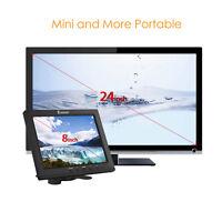 "8"" IPS LCD TFT Screen HDMI VGA AV BNC Monitor Display CCTV Camera Video DVD FPV"