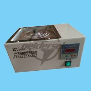 New HH-1 Digital Lab Thermostatic Water Bath Single Hole Electric Heating