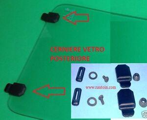 Fiat Uno #Duna #Elba #1000 cerniere vetro posteriore apribile