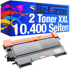 2x Toner SuperXXL für Brother TN-2220 HL2240D HL2250DN HL2270DW DCP-7070DW