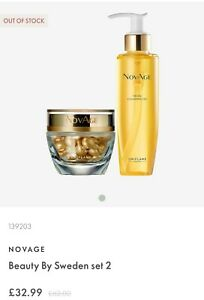 Oriflame NovAge Facial Cleansing Oil For All Skin Types + Novage Nutri6 capsules