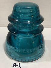 HEMINGRAY 42 GLASS INSULATOR. RDP A1