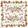 Hoja de Papel de Arroz / Flores/Flores/Rosas / DFT047