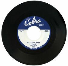 Otis Rush Sit Down Baby / Jump Sister Bessie R&B Reissue