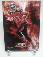 2014 Topps Fire Flame #153 Mike Evans RC Rookie Tampa Bay Buccaneers