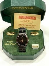 Mens Lucien Piccard Dufonte Watch With Diamond Accent NEW IN BOX