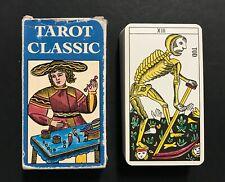 Vintage 1974 Tarot Classic Marseille German Edition AG Müller