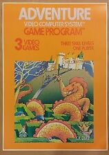"Atari Adventure 24"" x 34"" Poster Video Game RPG Role Playing Skyrim Zelda"