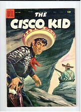 Dell CISCO KID #27 May-June 1955 vintage western comic