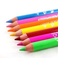 Saffron London UK Bright Neon Eye Liner Lip Pencil 6 Colour Options