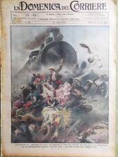 La Domenica del Corriere 19 Luglio 1925 Amundsen De Pinedo Fotografia Dirigibile