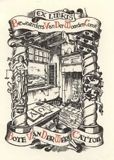 Ex Libris Harry Corvers : Opus 21, Bote v.d. Werf Cattoir