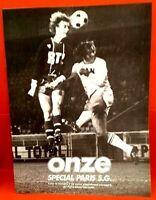FOOTBALL ONZE SPÉCIAL PSG PARIS ST GERMAIN n° 5  de 1976 JUSTIER M'PELE CRUYFF