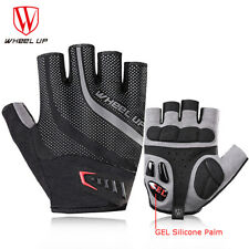 Breathabel Cycling Gloves Gel Pad Black Mitts Bike Bicycle Sports Racing Gloves