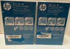 "360 Sheets HP Vivid Photo Paper 4""x 6"" GLOSSY White CG937A  Fast Drying"