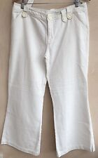 Ladies White Jeans Size 14 Oasis<NH4072