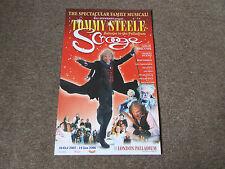 Tommy Steele in SCROOGE 2006 Return to London PALLADIUM Theatre Original Poster