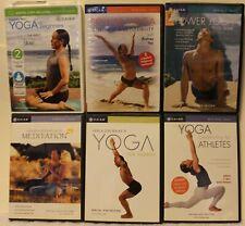 6 Rodney Yee Yoga workout DVD lot meditation power for strength energy beginners