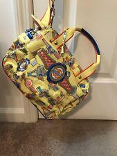 Bright Yellow Fun Oilily Handbag Purse Bag, New
