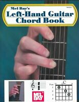 Left-Hand Guitar Chord Book, Paperback by Bay, William, Brand New, Free P&P i...