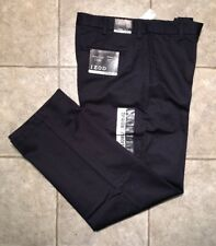 IZOD * Mens Navy Casual Pants * Size 36 x 32 * NEW WITH TAGS