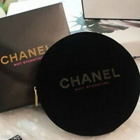 Chanel Nuit Byzantine Velvet Coin Purse Makeup Cosmetic Bag - Vip Gift