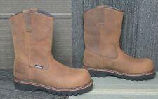 Mens Thorogood V-Series Waterproof Wellington CrazyHorse Safety Toe Boots sz 8 M