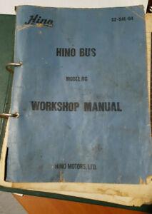 Hino Bus workshop manual RC320