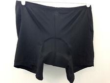 4ucycling Padded Liner Short Unisex XL Black Underwear Mesh Bike Bicycling NEW