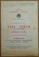 Materiali edili - Brochure pubblicitaria Brevetti Stonproof Alajmo - Milano '50