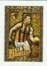 2010 AFL HAWTHORN SAM MITCHELL Herald Sun 2009  Best & Fairest # BF8