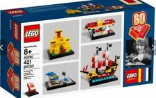 LEGO 40290 60 years Anniversary of the Lego brick promotional set New 421pcs