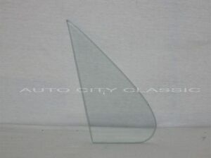 1961 1962 Chevy Vent Glass Buick Cadillac Olds Pontiac Convertible Clear LH RH