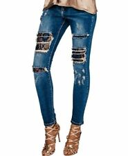 Unbranded Distressed Mid Slim, Skinny Jeans for Women