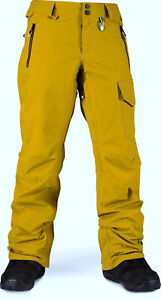 VOLCOM Women's MERLIN GORE-TEX Snow Pants - BRZ - Size Small - NWT -