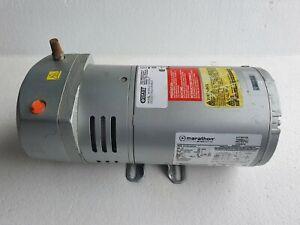 GAST 0523-703Q-G588DX Rotary Vane Vacuum Pump / Compressor 1/4Hp, 115/230V # New