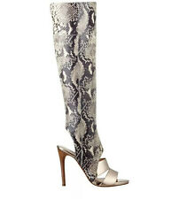 $199 Guess Women's Condolan Over The Knee Boots Snake Elastic Material Size 6