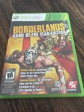 Borderlands GOTY Xbox 360 Cib Game Works XG2