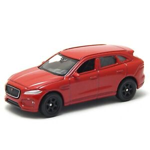 Jaguar F-Pace, X761, Red, Welly NEX Series 1:60 1:64 No. 52355 3 inch Toy Car