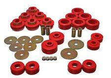 Energy Suspension 3.4118R Red Body Mount Set for 92-97 GM Denali XL/Blazer/Yukon