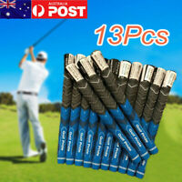 13pcs Golf Pride New Decade Multi Compound MCC Golf Grips MidSize - Blue