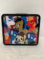 2014 Hasbro My Little Pony Metal Lunchbox Box Only No Thermos