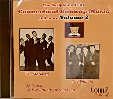 CONNECTICUT DOOWOP MUSIC AND MORE - Volume #2 - 28 VA Tracks