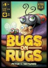 Kids Table Board game Bugs on Rugs Box New In the Shrink!