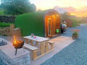 Composite Camping Pod,  Glamping Pod,  Home Office with An Ensuite