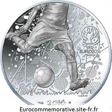 Disponible 10 Euros Argent France Coupe de l'UEFA 2016 ! UNC Silver coin ! ! !