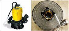 "Wacker Neuson PST2 400 2 in. Submersible Pump 110V/60Hz w/ 2""x50' Discharge Hose"